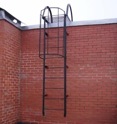 Вертикальный тип лестницы