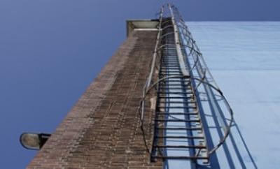 Вертикальная эвакуационная лестница