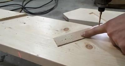 Высверливание отверстий по шаблону