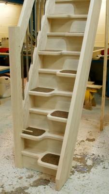 Стационарный тип лестницы