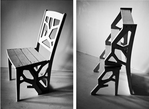 Складной стул с современным дизайном