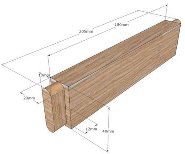 Схема и параметры царги