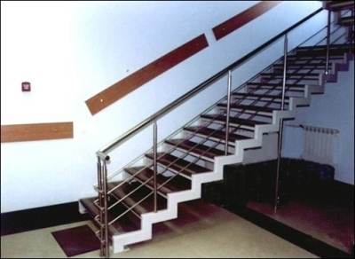 Маршевый тип лестницы