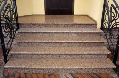 Накладки для уличных лестниц