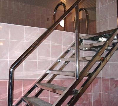 Конструкция с прямыми ступенями