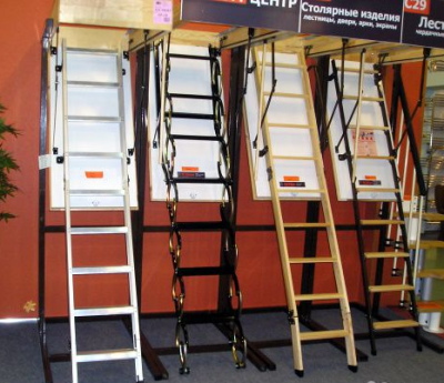 Варианты лестниц могут быть разные