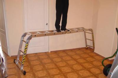 Такая лестница станет помощником и дома и на даче и в строительстве