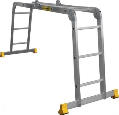 Лестница трансформер алюминиевая 4x3