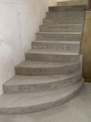 Монолитные ступени
