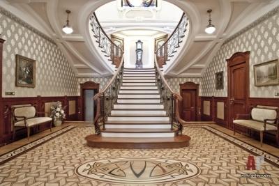 Монолитная основа для лестницы