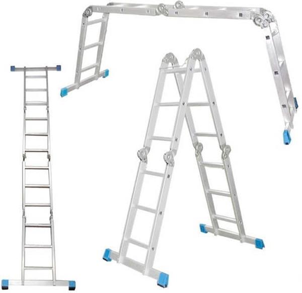 Варианты установки лестницы трансформер