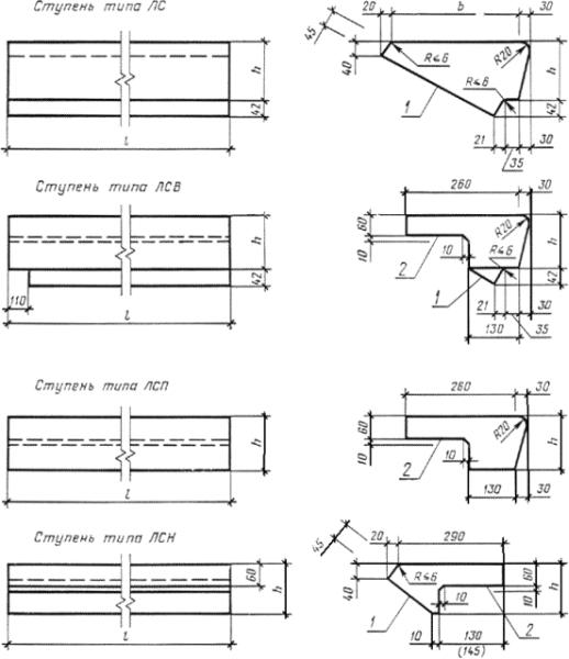 Лестничная стальная установка