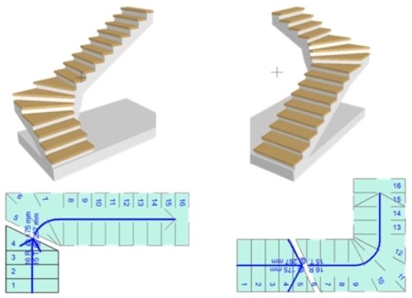 Поворотная установка лестницы