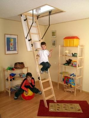 Лестница Prima в детской комнате
