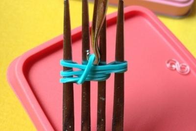 Чертеж для плетения резиночек «Лестница»