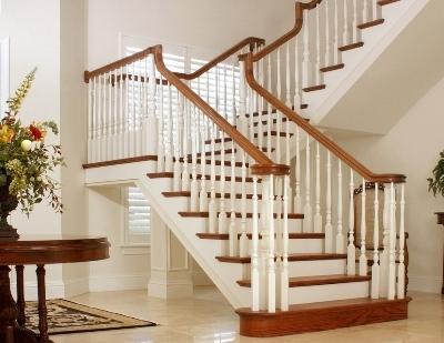 Перила к дубовой лестнице