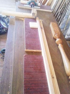 Монтаж лестничной ограды