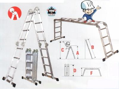 Возможности универсальной лестницы-стремянки