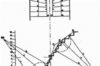Расчет лестницы с поворотом ступеней 180 градусов