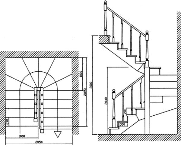 Особенности расчета лестницы