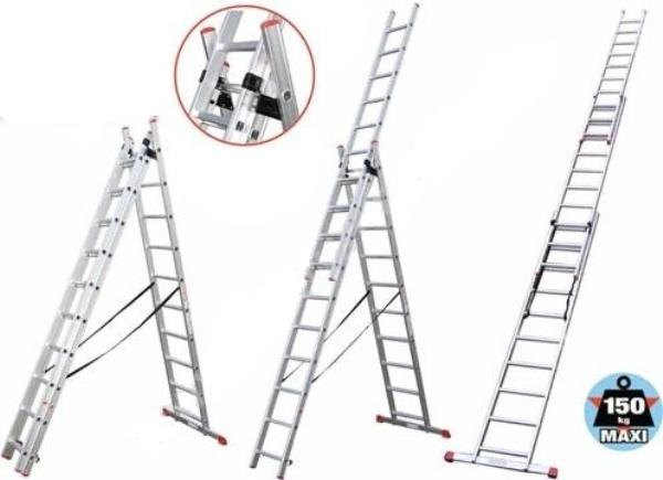 Вариации раскладки лестницы