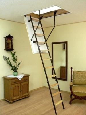 Лестница для мансарды Оман