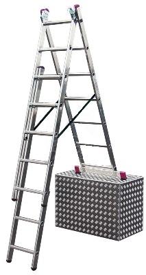 Один из вариантов использования лестницы