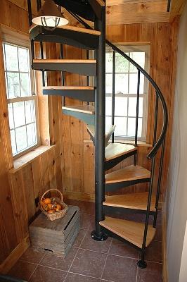 Самостоятельный монтаж лестницы из металлопрофиля