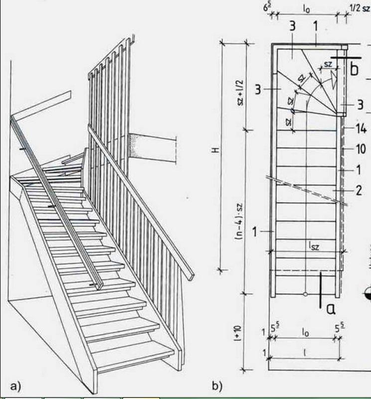 Создание лестничной конструкции из лиственницы