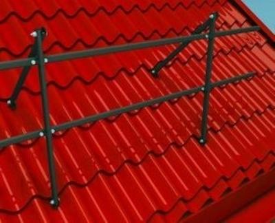 Ограда крыши без доступа людей