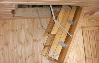 Модульная лестница внутреннего размещения