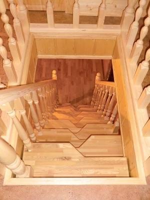 Деревянная подъемная конструкция