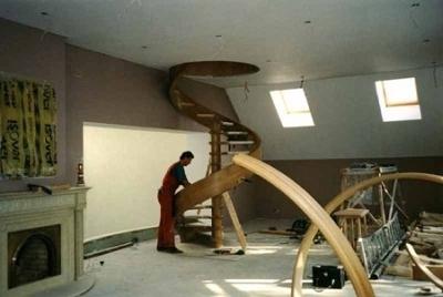 Перила для лестничной установки