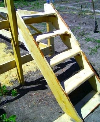 Лестница (процесс изготовления)