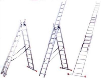 Стандартная трехсекционная лестница