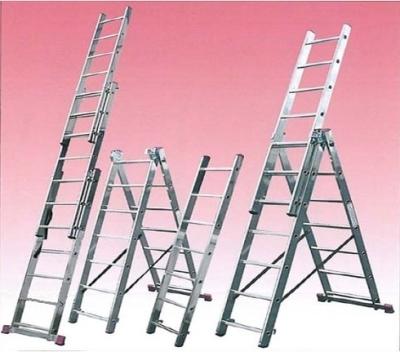 Сравнение трех и двухсекционных лестниц