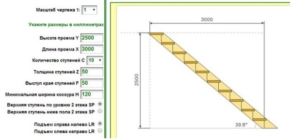 Интерфейс программы-калькулятора