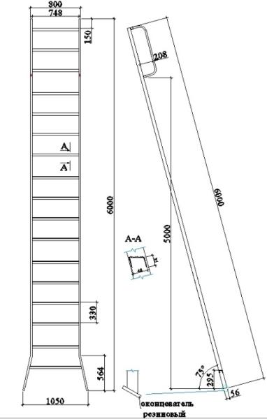 Обустройство лестничного сооружения
