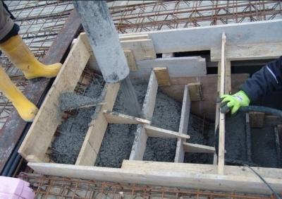 Самостоятельная заготовка бетонной лестницы