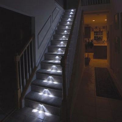 Светильное оборудование для ступеней