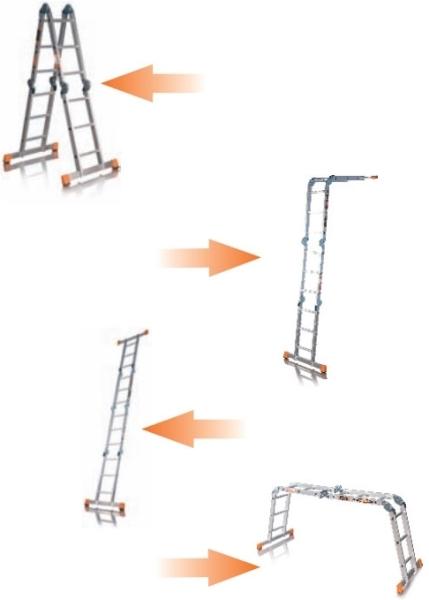 Лестница-стремянка Эйфель
