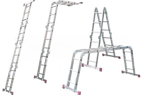 Модульная лестничная конструкция Алюмет