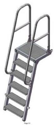 Лестница приставного типа