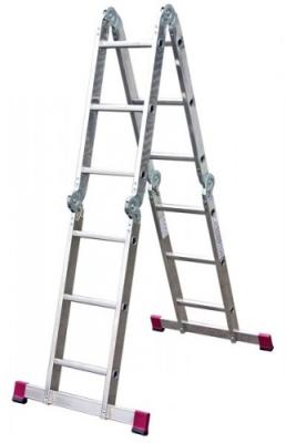 Лестничное сооружение для работы на даче