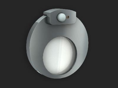 Светодиондный светильник с датчиком движения