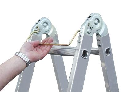 Алюминиевая лестница от фирмы Краузе