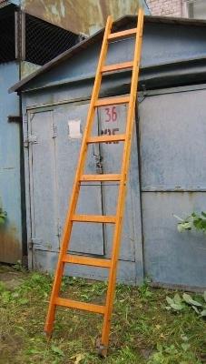 Виды приставных лестниц