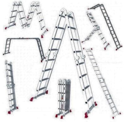Варианты использования складной лестницы