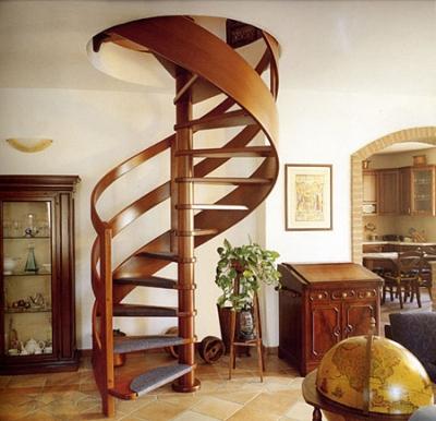 Самостоятельный монтаж винтовой лестницы