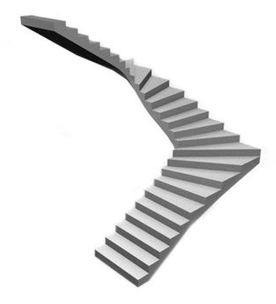 Самостоятельное конструирование П-образной лестничной конструкции
